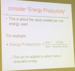 Energy Productivity by Uly Ma